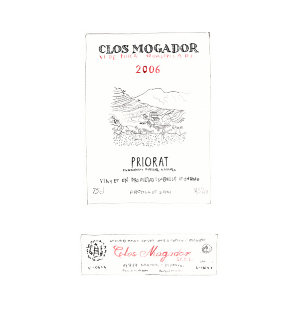clos mogador wine 2006 priorat spain